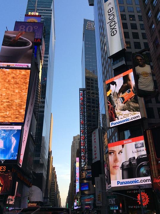 Times Square, New York, City, New York City, Manhattan