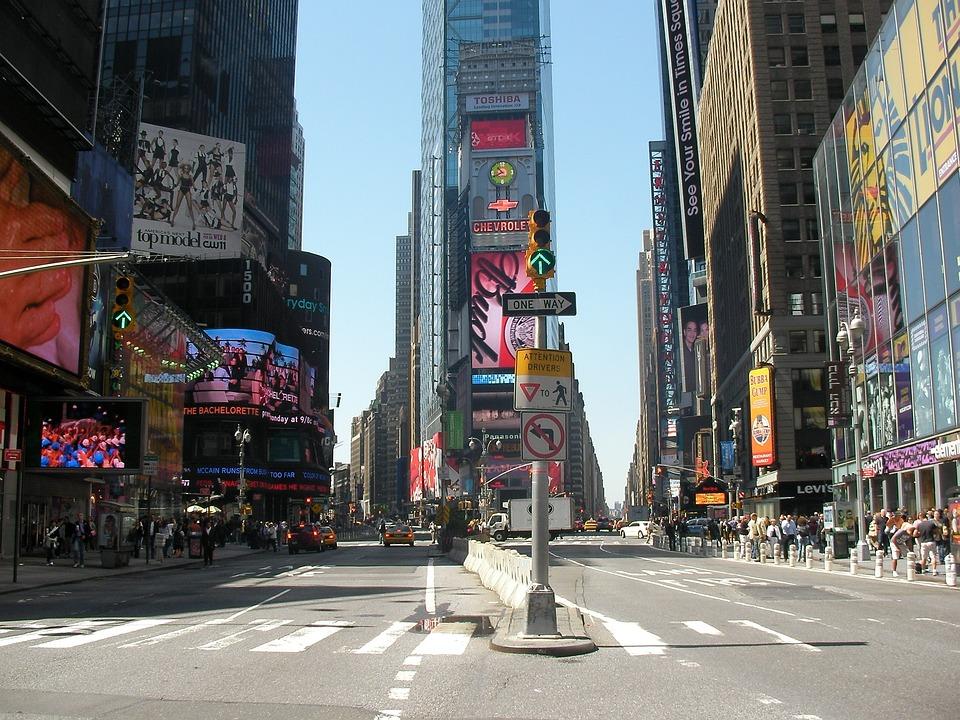 Times Square, Usa, New York, Ny, Nyc, New York City