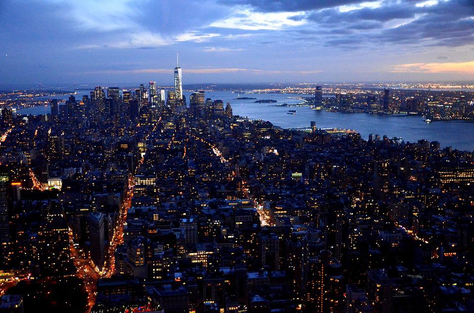 New York, Manhattan, City, Big City, Capital