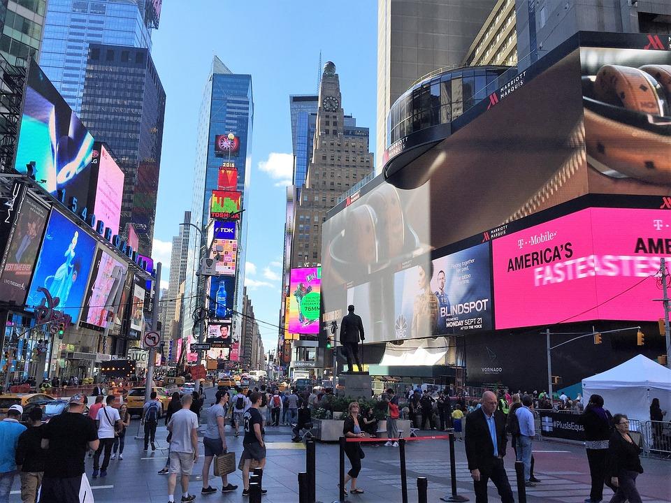 New York, Time Square, Manhattan