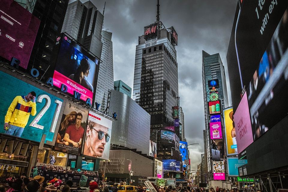 New York, Time Square, Broadway, Manhattan, Midtown