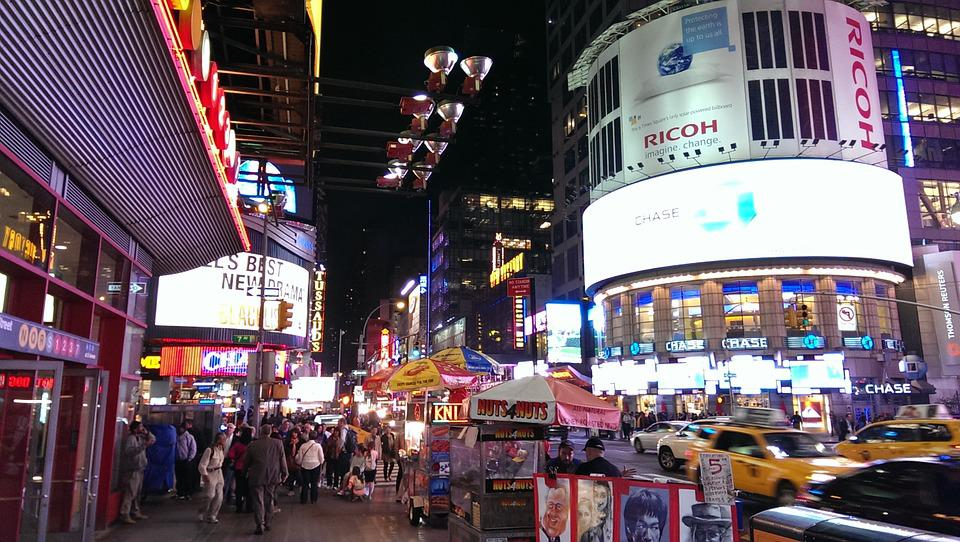 Times Square, New York, Usa, Nyc, New York City