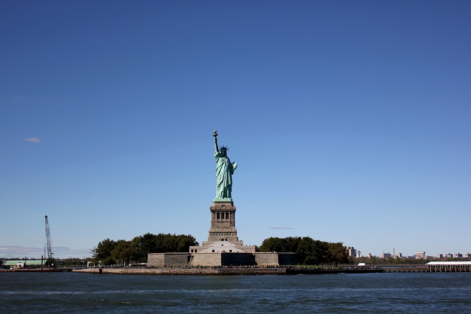 The Statue Of Liberty, New York, Monument, Newyork