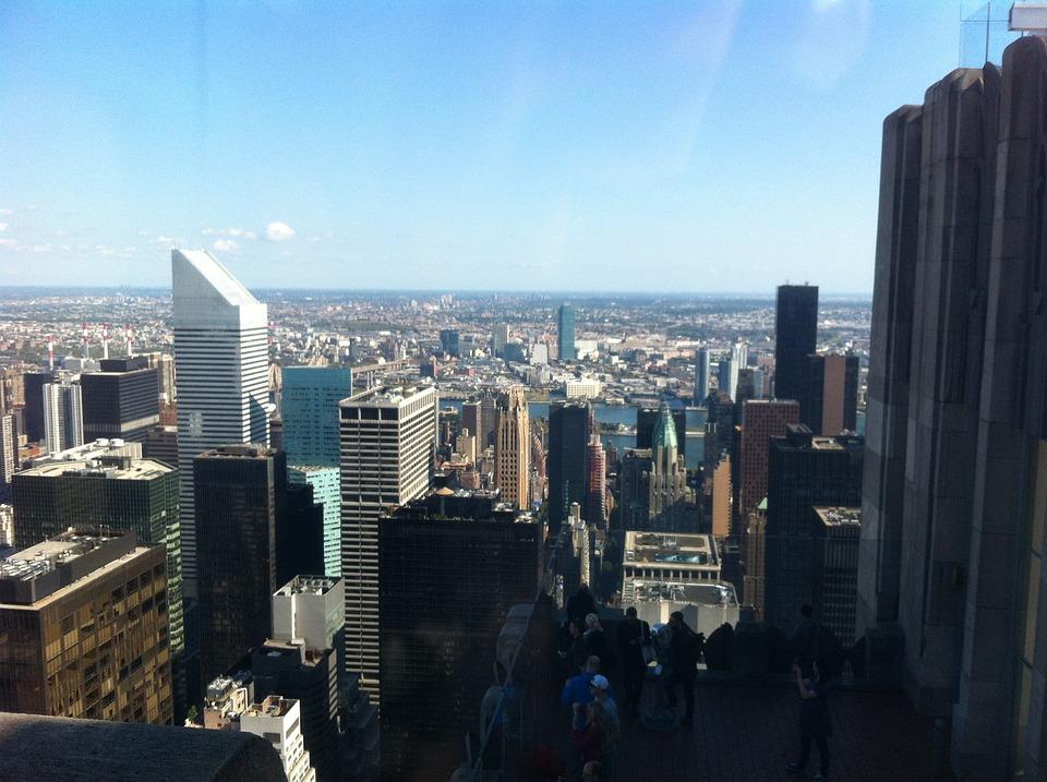Overlooking The City New York, Panorama, New York