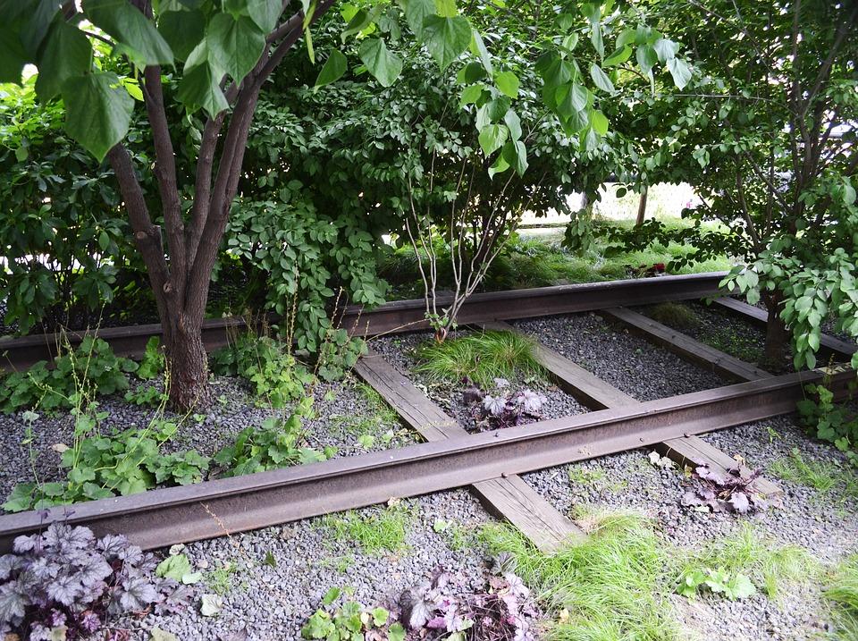 New York, Garden, The High Line, Railroad