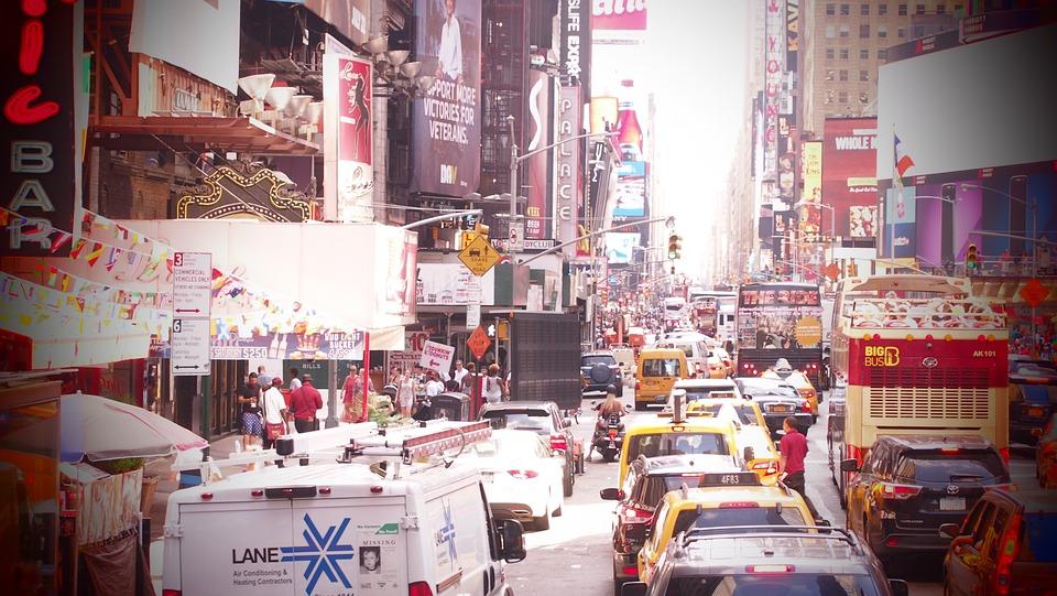 Time Square, New York, Jam