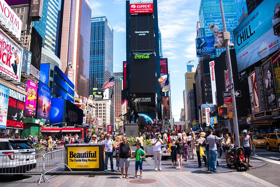 New York City, New York Times Square, New York