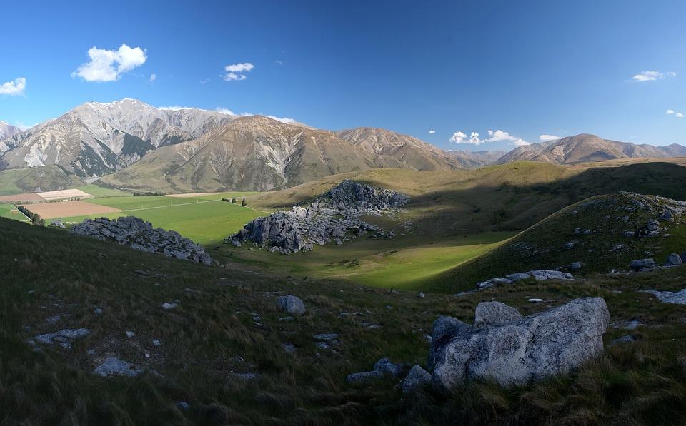 New Zealand, Castle Hill, Nature, Mountain, Landscape
