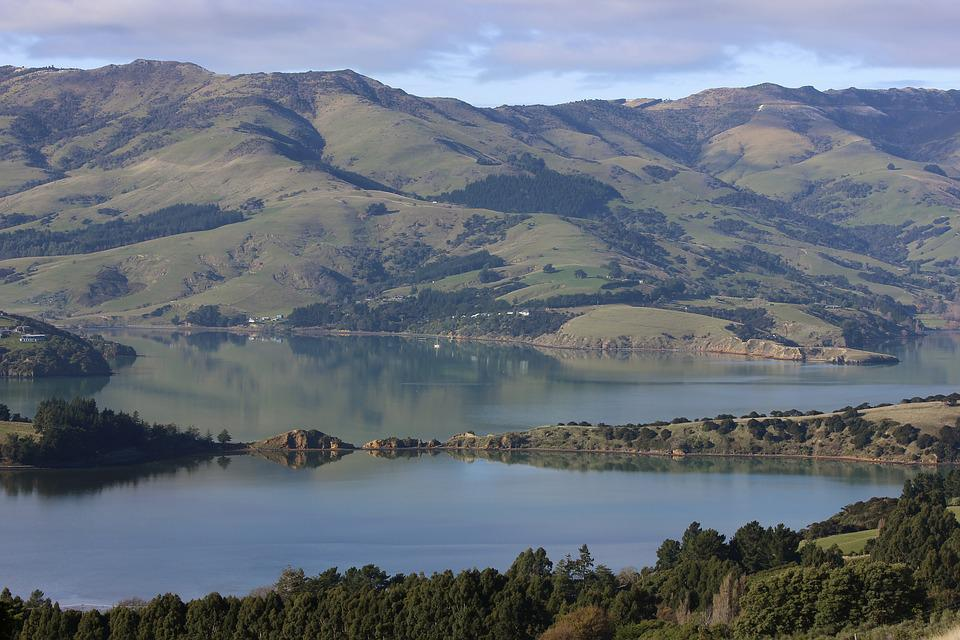 Harbour, Harbor, Banks Peninsula, Onawe, New Zealand