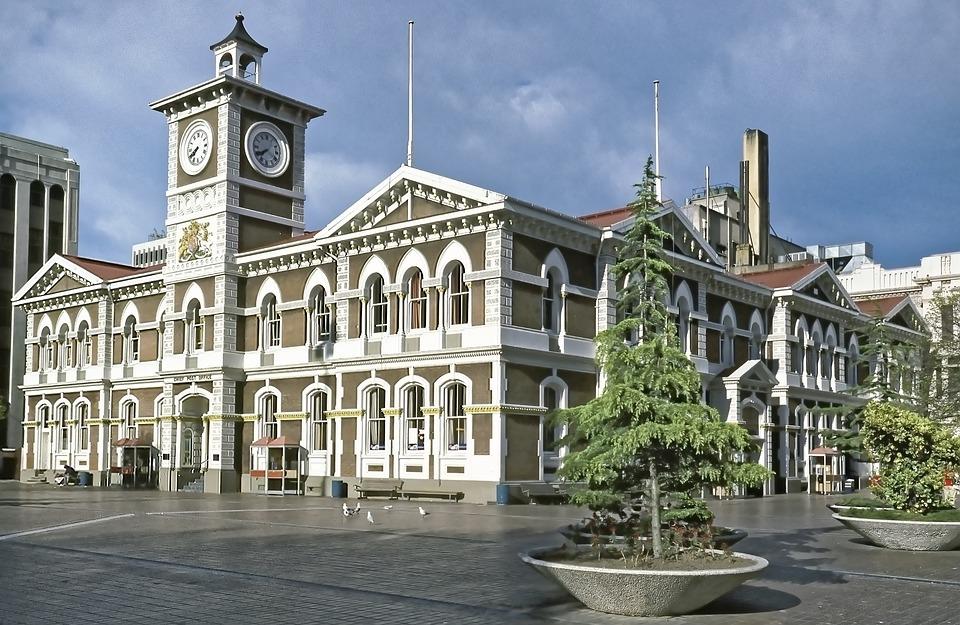 New Zealand, Christchurch, Post Office