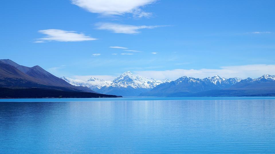 Mountains, Snow, New Zealand