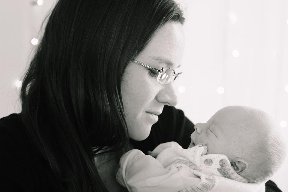 Mother, Motherhood, Newborn, Baby, Infant, People
