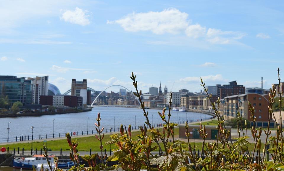 Newcastle, Newcastle Upon Tyne, Millennium Bridge