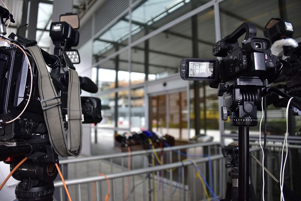Hongkong, Press, Media, Camera, Work, News, Sound
