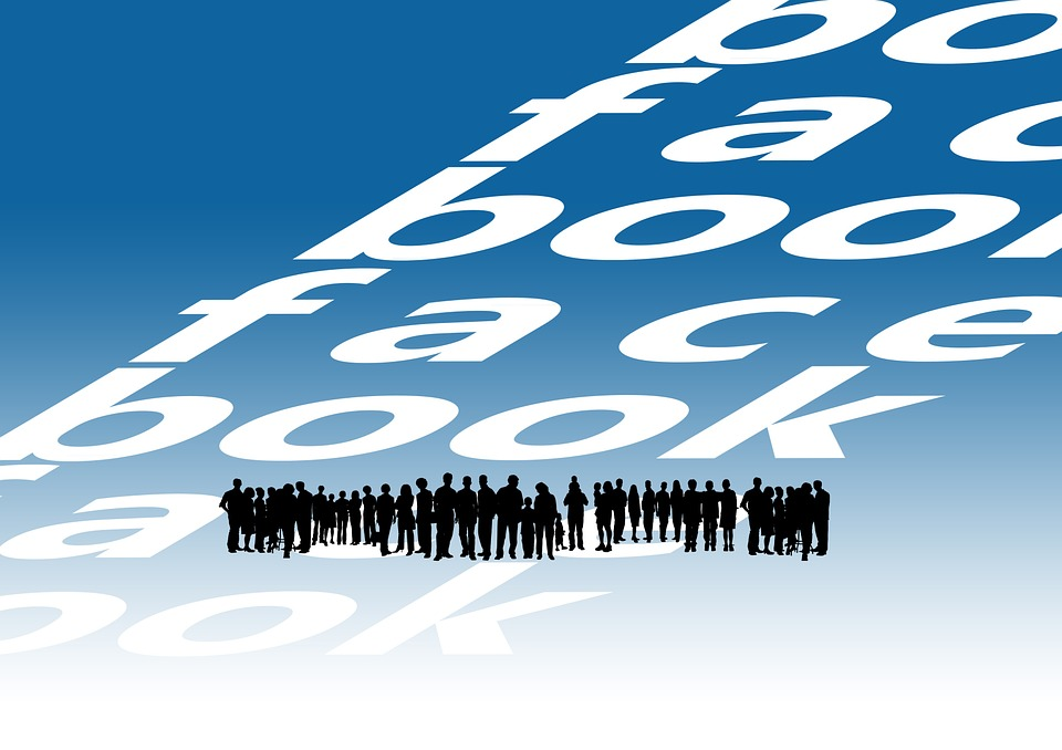 Facebook, System, Web, News, Human, Silhouettes