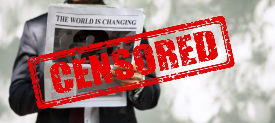 Censorship, Man, Newspaper, Read, News, Press