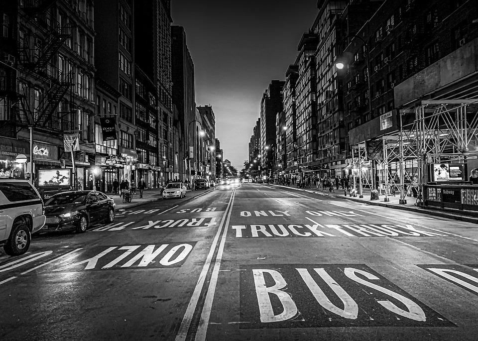 Newyork, Street, City, Architecture, Buildings