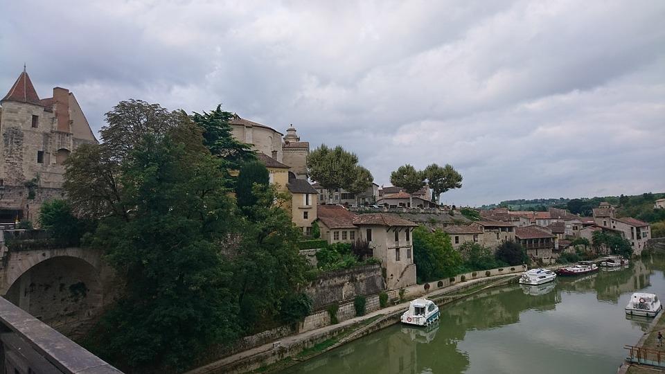 Neyrac, River, The River Baïse, Lot