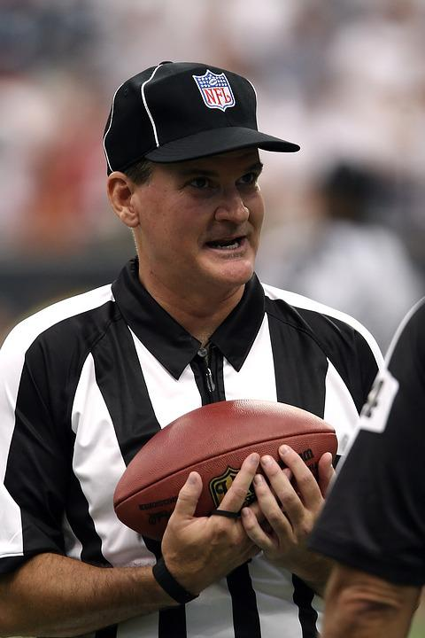 Football Referee, Professional Football, Nfl, Game