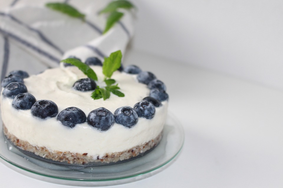 Blueberries, Desert, Sweet, Delicious, Nibble, Calories