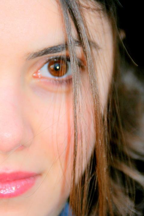 Girl, Portrait, Brown Eyes, Brown, Nice