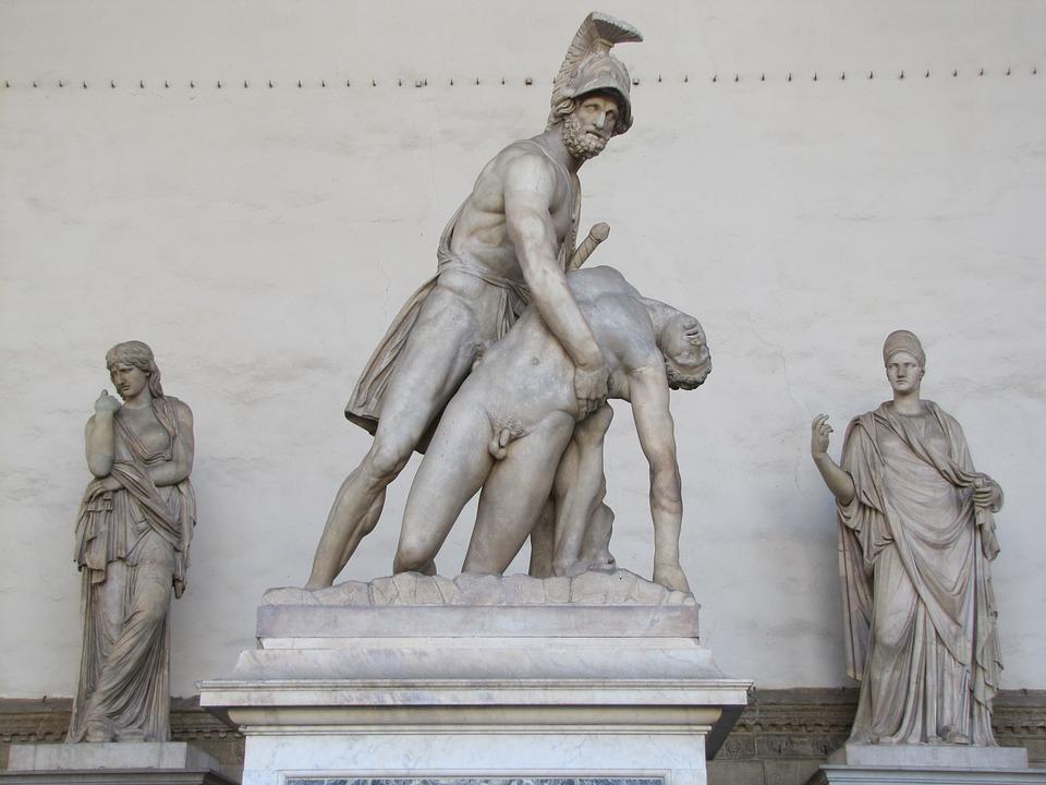 Sculptures, Florence, Nice