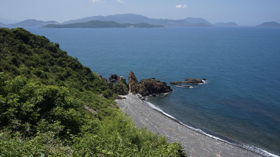Binhba, Island, Sea, The Sea, Knife, Water, Sand, Nice
