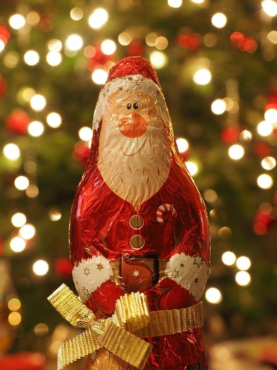 Santa Claus, Christmas, Fig, Nicholas, Chocolate