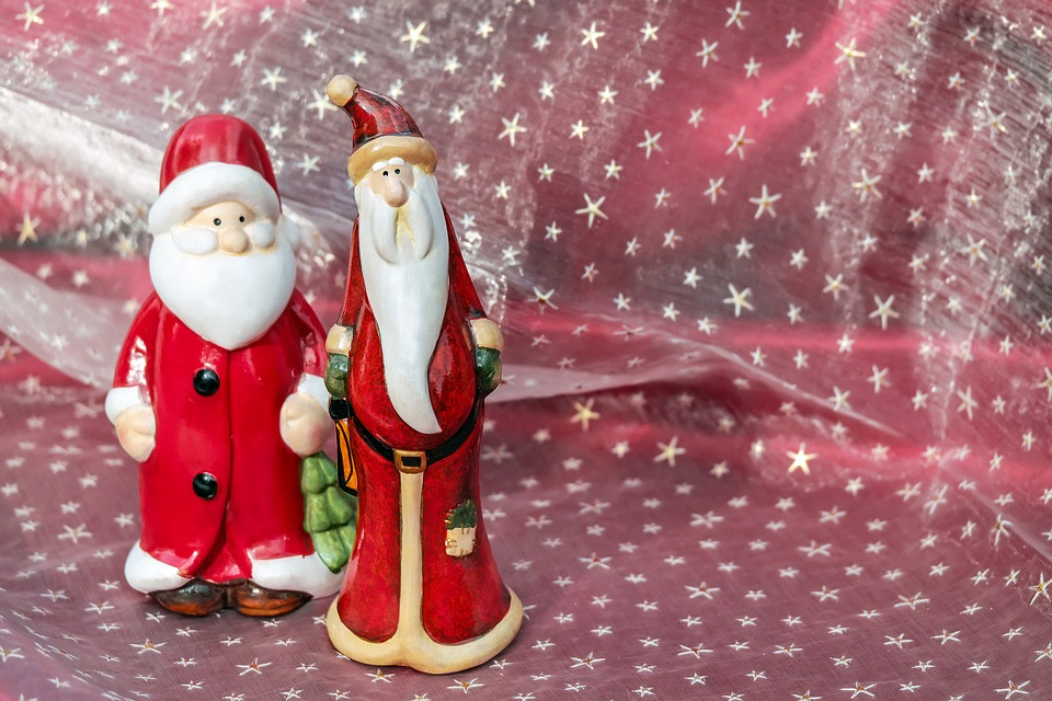 Santa Claus, Christmas, Nicholas, Fig, Christmas Motif