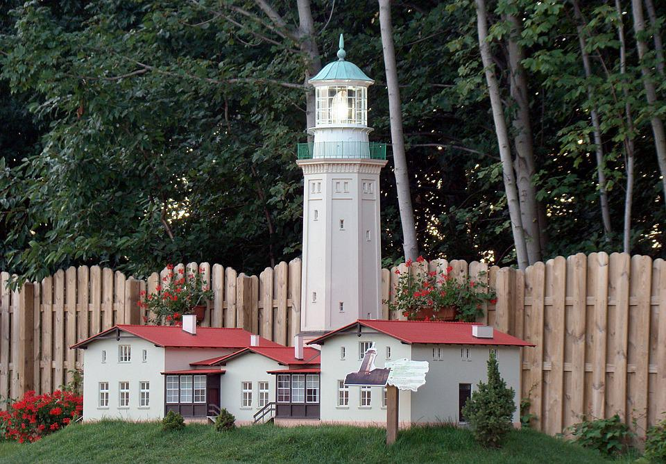 Lighthouse, Miniature, Niechorze, Miniature Park