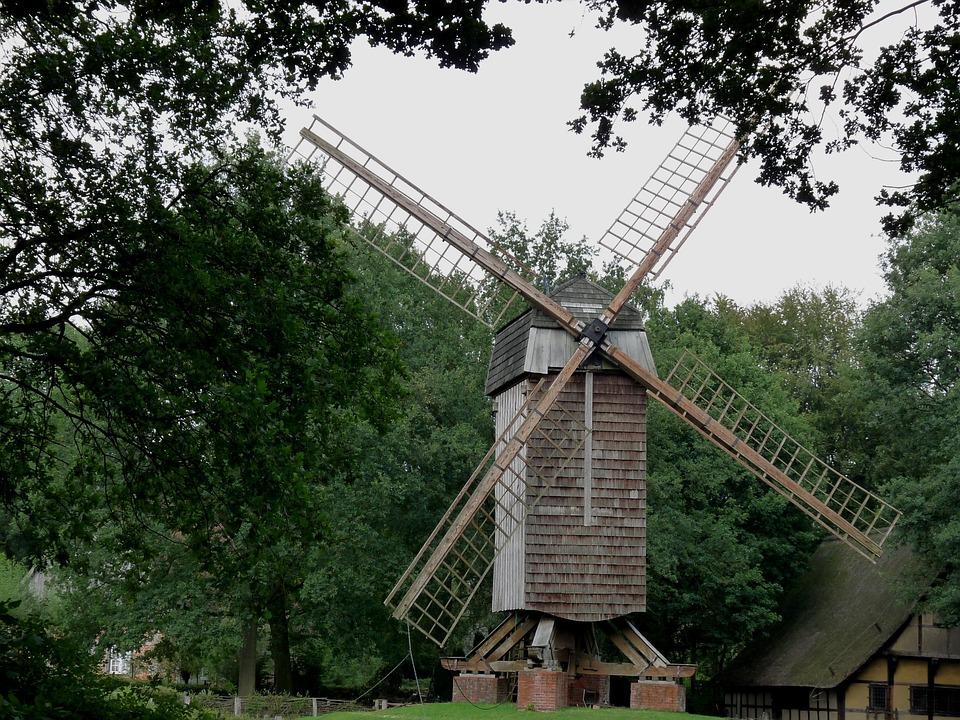 Mill, Windmill, Wing, Wind, Münsterland, Niederrhein