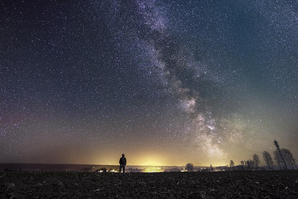 Star, Nigh, Night, Nature, Space, Constellation, Dark