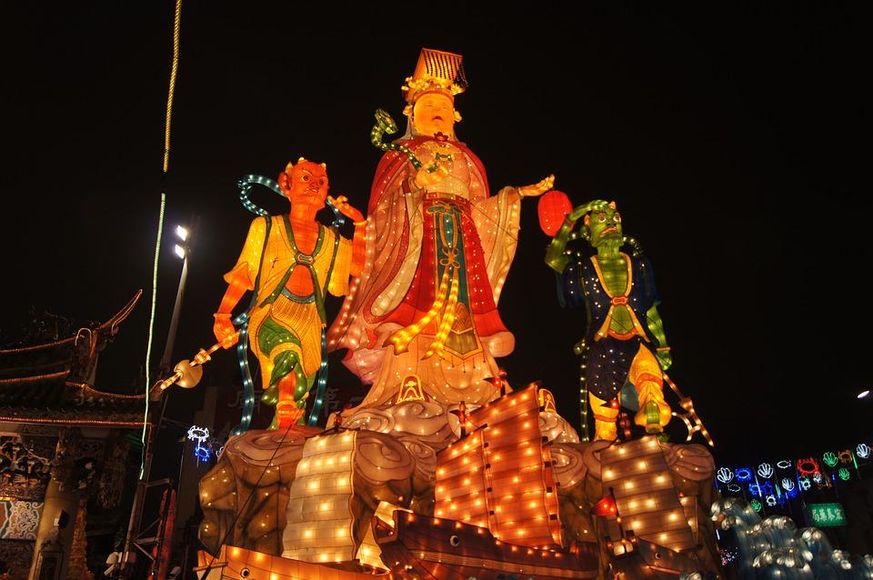 Lukang, Carnivals, Night