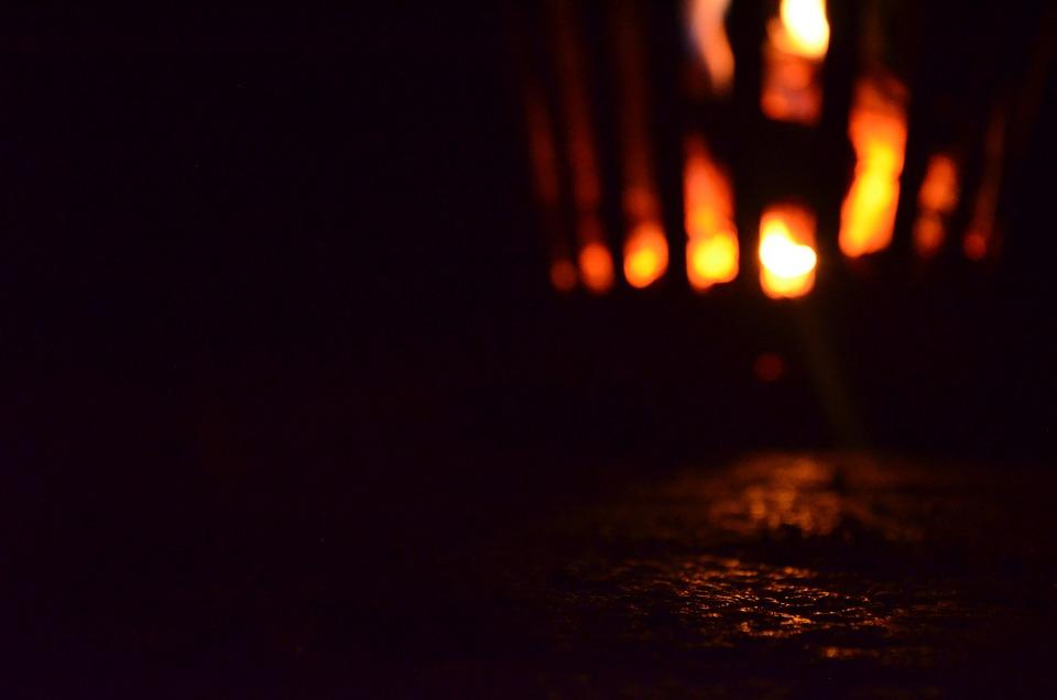 Fire, Fire Basket, Flame, Night, Night Photograph
