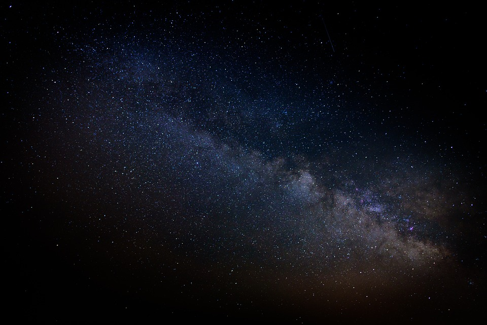 Cosmos, Dark, Hd Wallpaper, Milky Way, Night, Sky