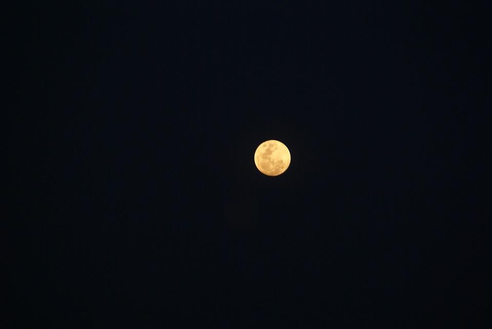 Light, Moon, Night, Crafty, Black