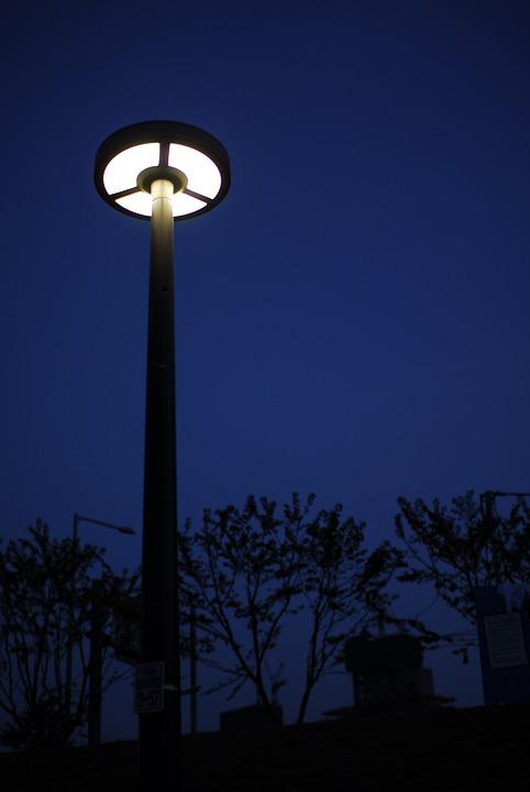 Street Lights, Night, Lighting