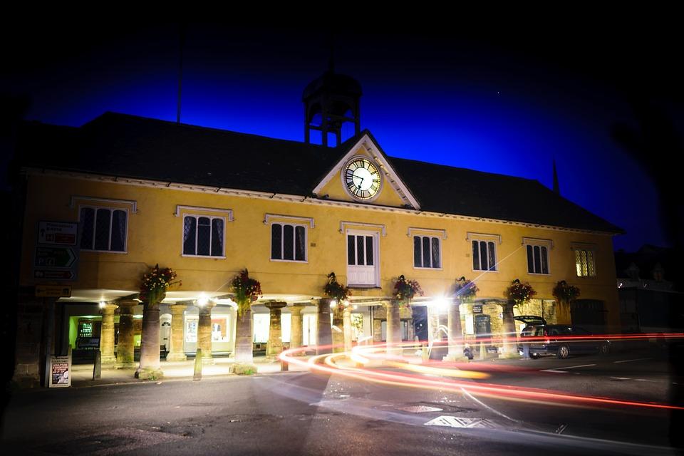 Tetbury, Night, Long Exposure, Town Hall