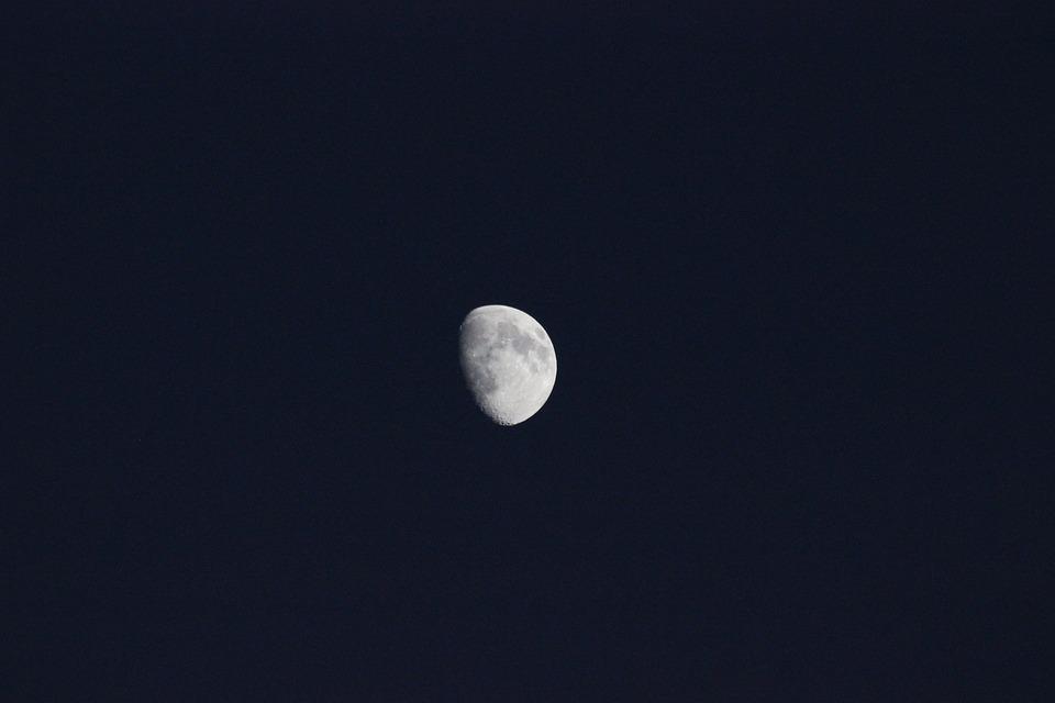 Luna, Night, Evening