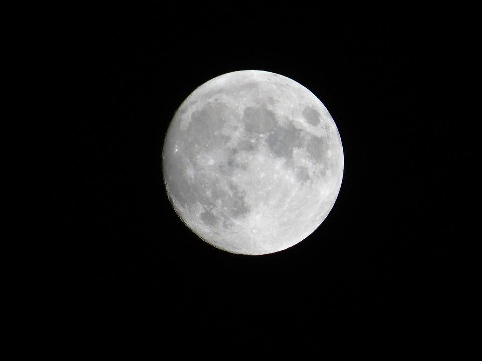 Moon, Sky, Night, Lunar, Astronomy
