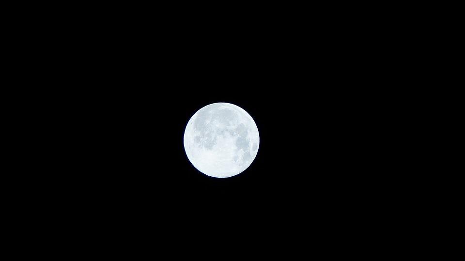 Moon, Night View, Superman, Night, Moonlit Night