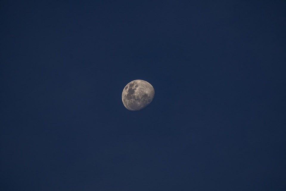 Moon, Sky, Night, Space, Landscape