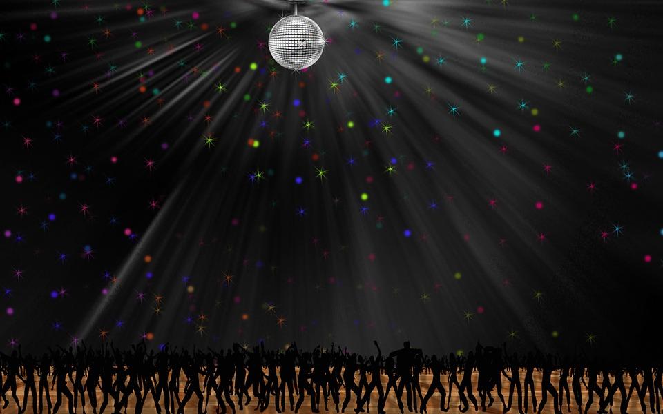 Disco, Night, Club, Dancing, Dancers, Clubbing, Music
