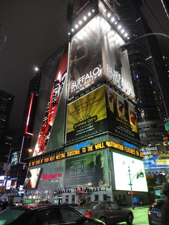 Time Square, Night, New York