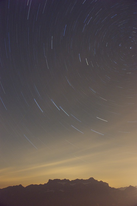 Polaris, Night Sky, Star Run, Night