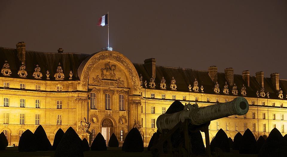 Palace, Building, Landmark, Historical, Night, Evening