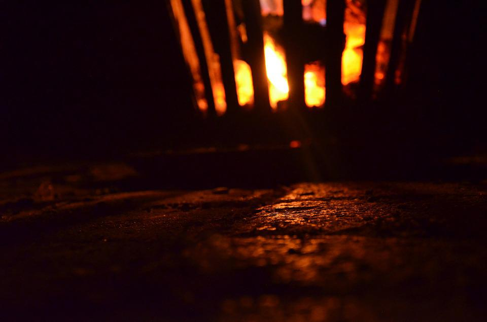 Fire, Fire Basket, Flame, Night, Night Photograph