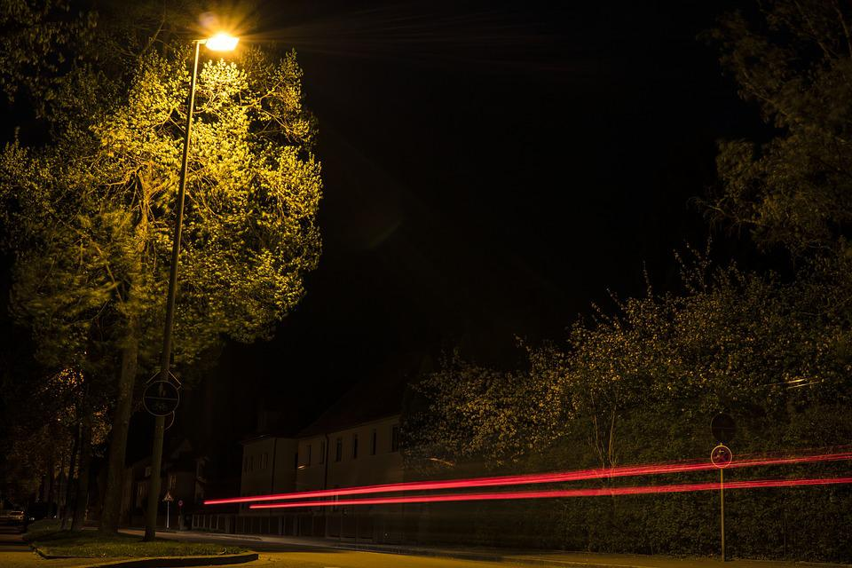 Long Exposure, Night, At Night, Night Photography, Road