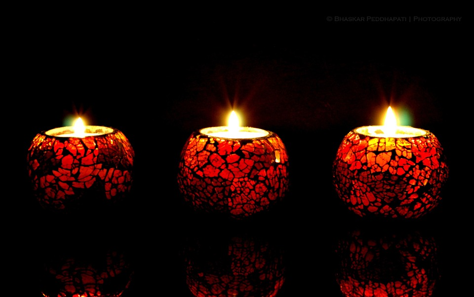 Candle, Light, Red, Night, Candles, Romantic