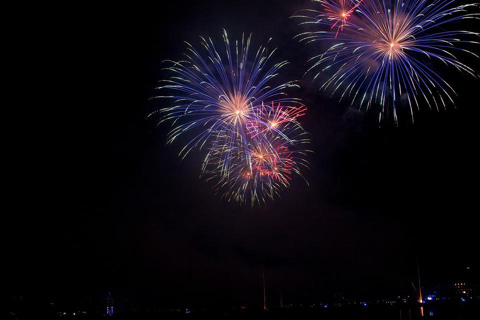 Salute, Holiday, Fireworks, Sky, Night, Night Sky